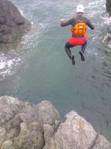Outdoor Adventures: Coasteering