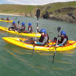 Outdoor Adventures: Sit On Kayaking, Pembrokeshire