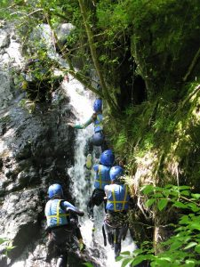 Outdoor Adventures: Gorge Walking/Canyoning, North Wales