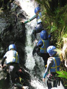 Outdoor Adventures: School & Youth Groups, Gorge Walking