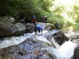 Outdoor Adventures: Gorge Walking/Canyoning, Wales