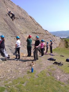 Outdoor Adventures: School & Youth Groups, Climbing & Abseiling