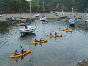 Outdoor Adventures: Sit On Kayaking, North Wales